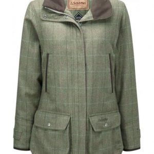 Schoffel Ptarmigan Ladies Tweed Coat - Bennet Tweed