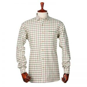 LAKSEN RICHARD TATTERSALL CHECK SHIRT