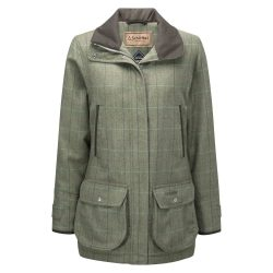 Schöffel Ladies Ptarmigan Tweed Coat