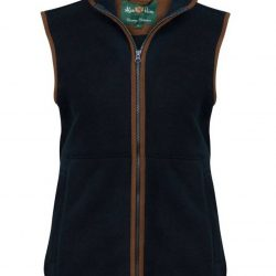 ALAN-PAINE-Ladies-Aylsham-Fleece-Gilet-Dark-Navy